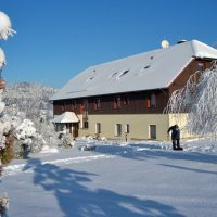 Ferienpension Gabriele Schmidt im Winter